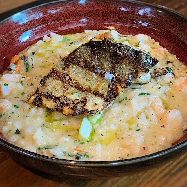 New Dish: The Seafood Risotto