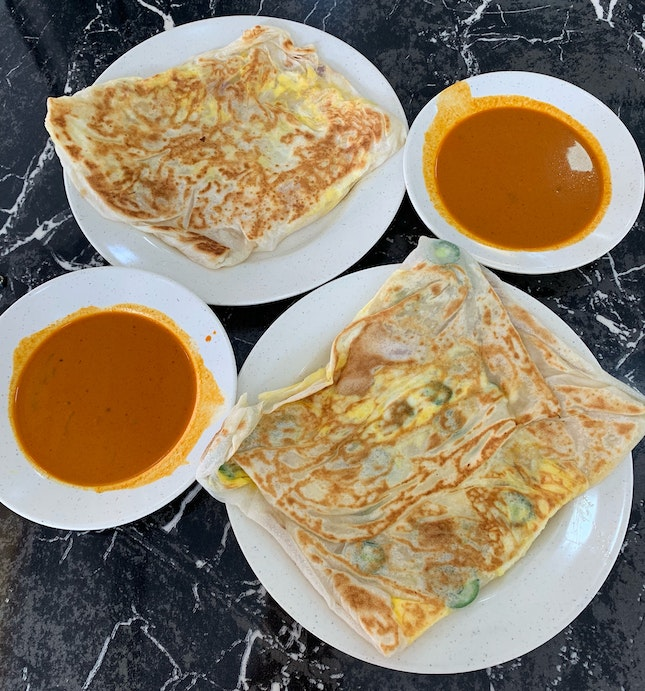 Egg Pratas That Are A Little Above Average ($1.80)