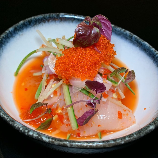 This Ceviche Packs A Punch! ($18++)