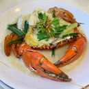 Choose The Steamed Crab When You Want To Really Taste The Crab ($72 for our serving shown)