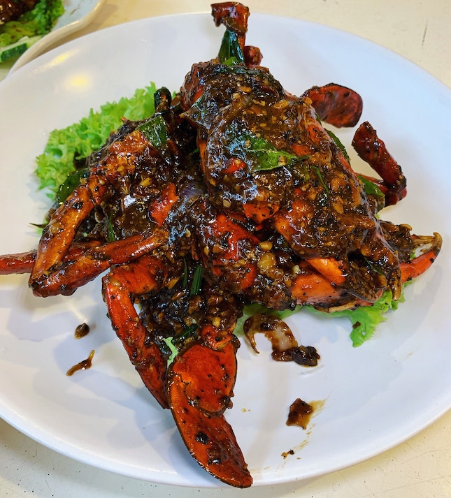 Their Black Pepper Crab That Is A Little More Complex In Taste Profile.