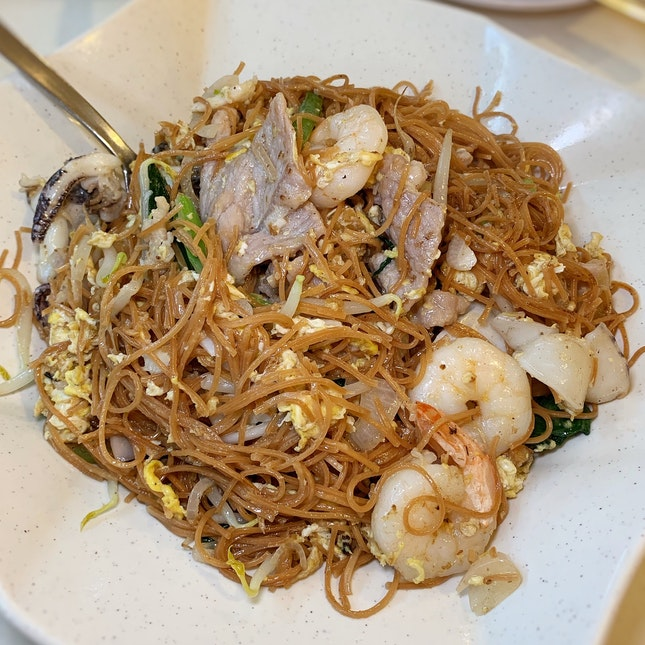 Fried Mee Sua - Shiok!