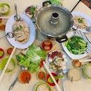 Steamboat + Chicken Rice + Zichar + Satay = Shiok-dom