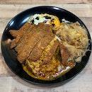 Hainanese Pork Chop Curry Rice ($4.80 nett)