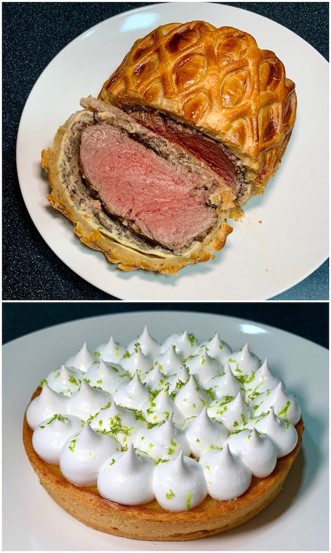 The Beef Wellington Set Meal Is Fabulous ($108, Serves 2 To 3 Pax).