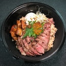 Possibly The Only Aged Beef Donburi In Singapore Right Now ($138).