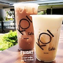 Cold drinks to chill down the #friday.
