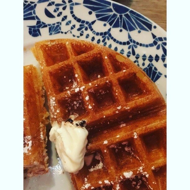 BEST WAFFLE EVER:  heads and shoulders above the much touted waffle from creamier.