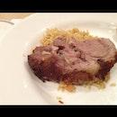 Roast Lamb with Briyani Rice