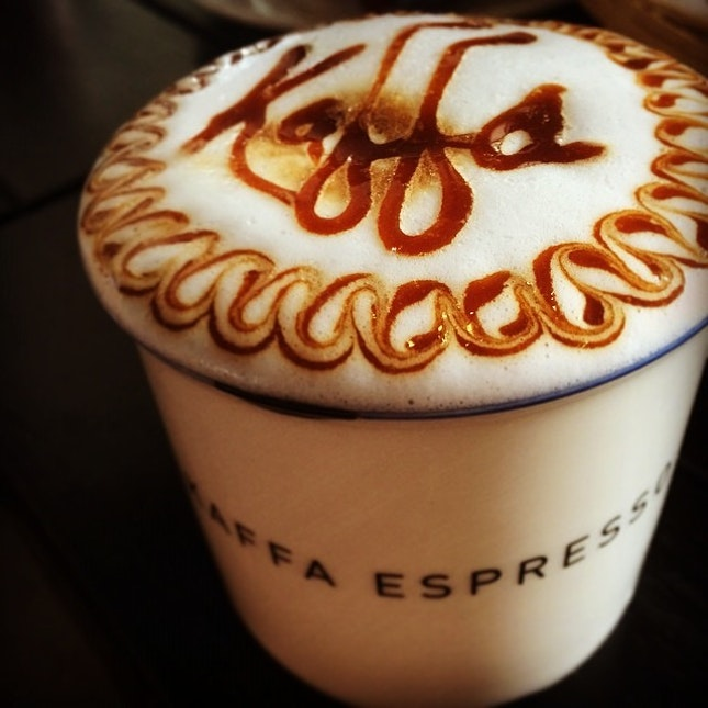 One last coffee before we head back!
