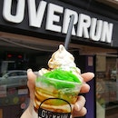 Overrun Chendol Soft Serve