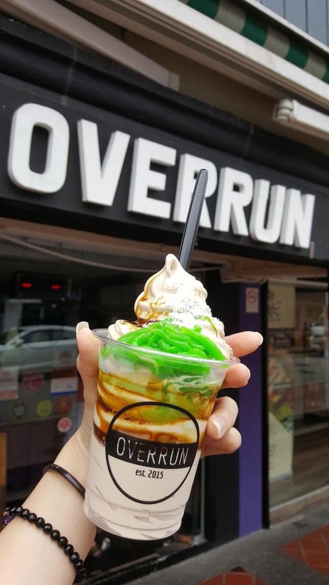 Overrun Chendol Soft Serve