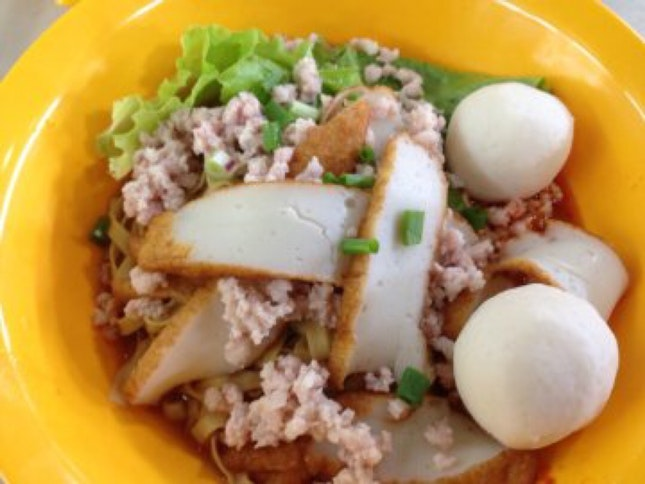 Bouncy Fishball Noodles