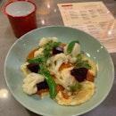 Polenta Crepe And Vegetable Medley ($22++)