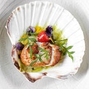 Diver Scallops (Part of 4-course Menu) • A new Thai infused menu by Thai chef Ian Kittichai drops at Tangerine.