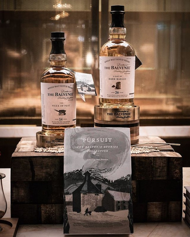 The Balvenie Storytelling Night • With every bottle of whiskey from Balvenie carries a tale and a story behind.