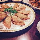 man du~~ #frieddumpling#foodie#burpple#instapic#yum#instadaily#sg#mandu#korean#cusine#foodporn