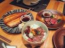 🤤😋🤗 •Beef Donburi •Tenderloin •Mackerel  #birthdaygirlsatisfied#instapic#fatcowsg#fatcowpremiumdonburi#japanesesteakhouse#foodporn#burpple#foodie#sgfood#eatoutsg#instadaily#throwback#instafood