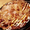 Must be crazy to order this big Okonomiyaki for dinner!