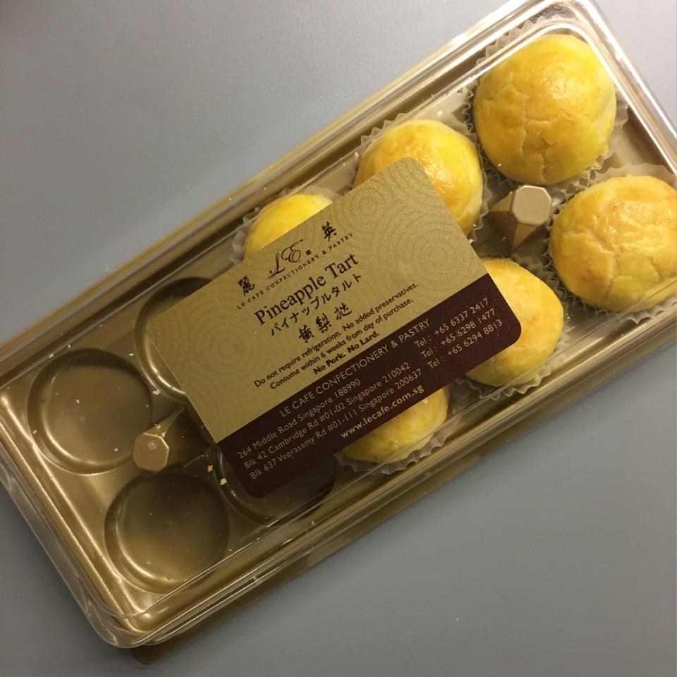 pineapple balls!