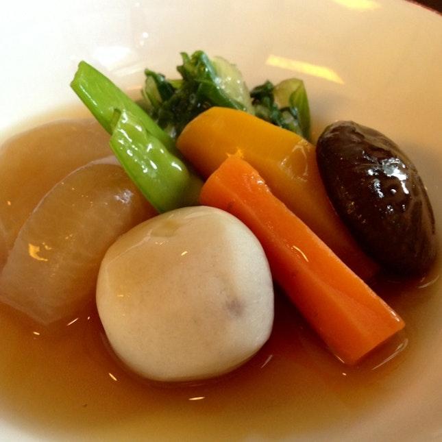 Steamed Assorted Vegetables