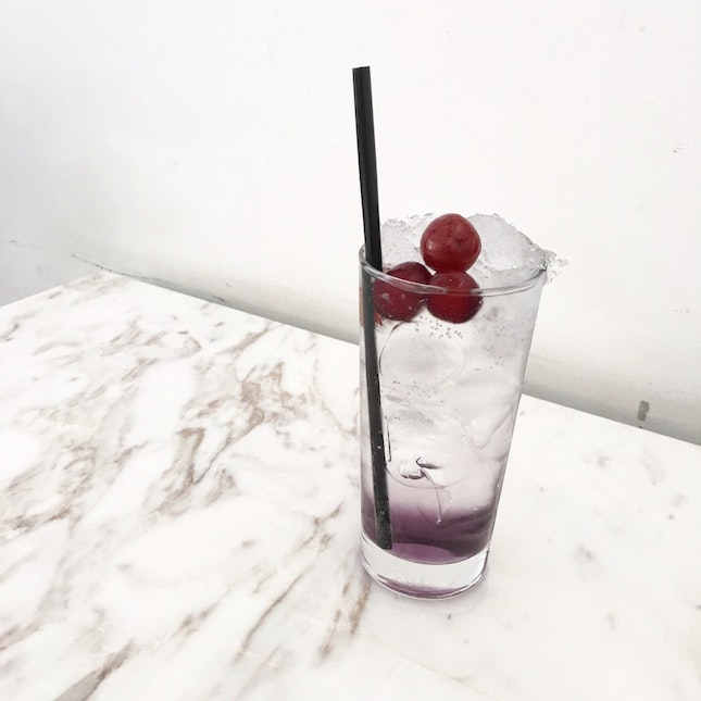 Grape And Lavender cooler