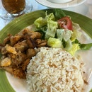 Lunch Set A Kebab Rice