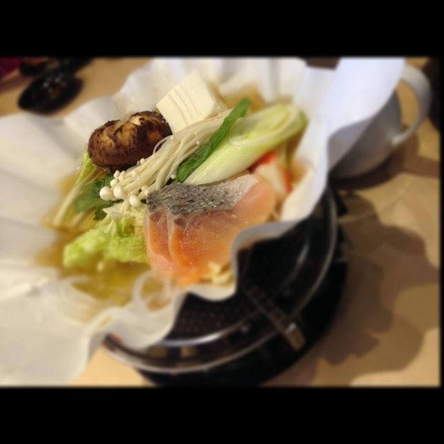 Salmon ...some Soup Dish