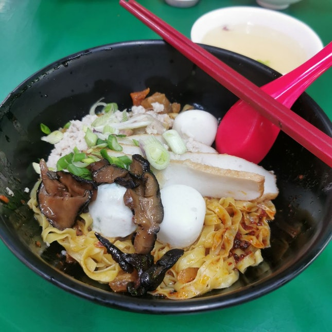 Yam Mee Teochew Noodle
