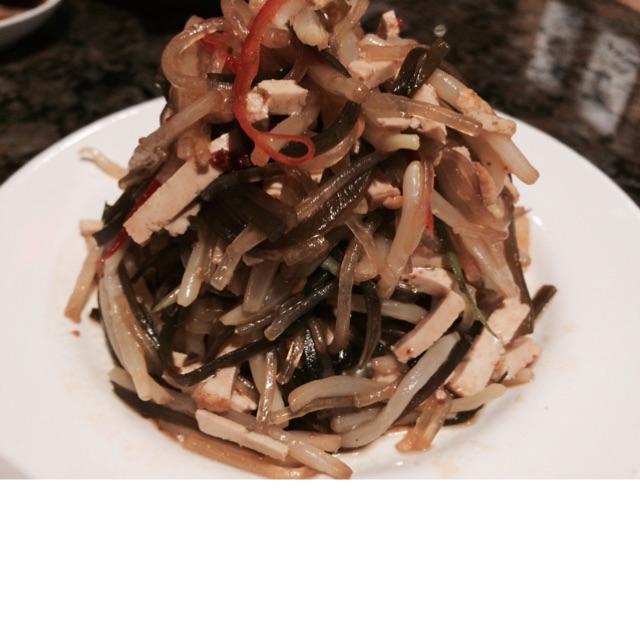 Oriental Salad In Special Vinegar Dressing