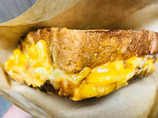 Savory Triple Cheese Sandwiches