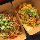 Lamb Curry Pasta And Teriyaki Stir Fry Pasta (I Forgot The Original Dish Name)