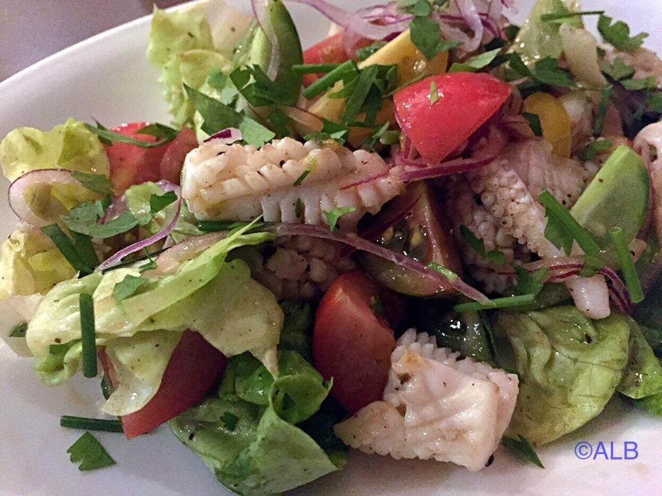 Japanese Squid Salad