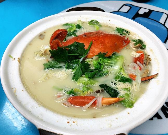 Crab Noodles Soup