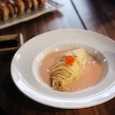 Wafu Spaghetti [$11.90] Can and will never say no to mentaiko.