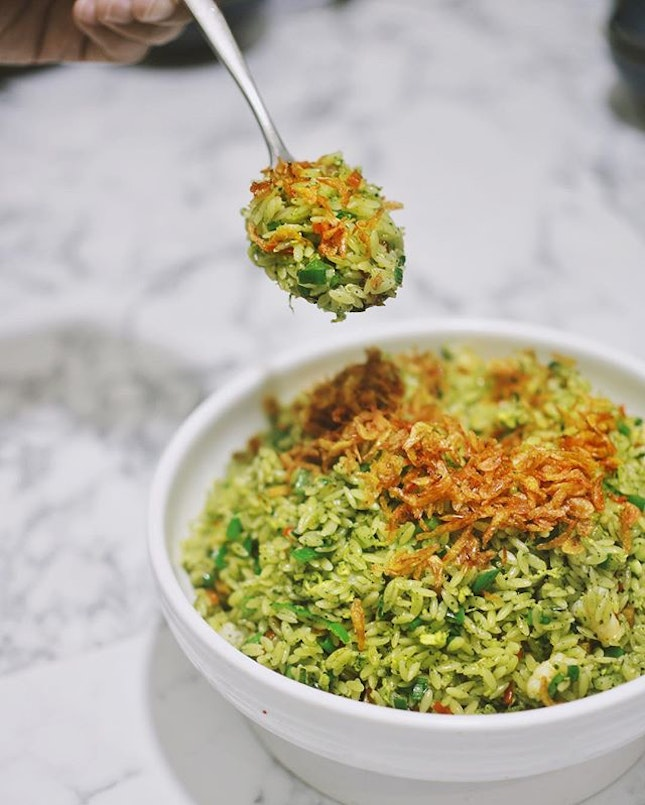 "Crystal Jade Yangzhou Fried ""Rice-shaped Pasta"" [$16.80]  Don't be fooled by it."