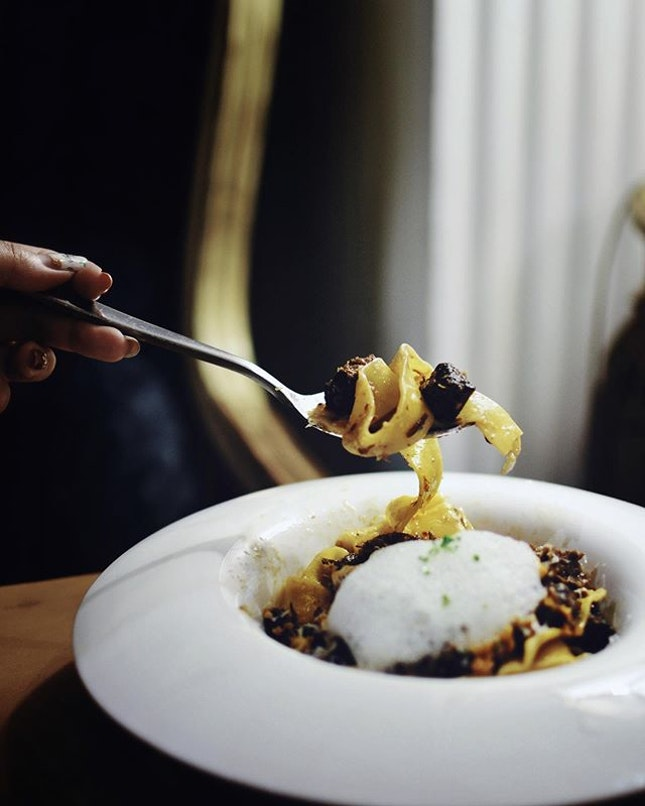 A new addition to this list is the Wagyu Beef Cheek [$28++], served with truffle!