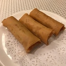 spring roll w chilli crab filling
