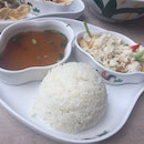 Red Curry Crab Rice
