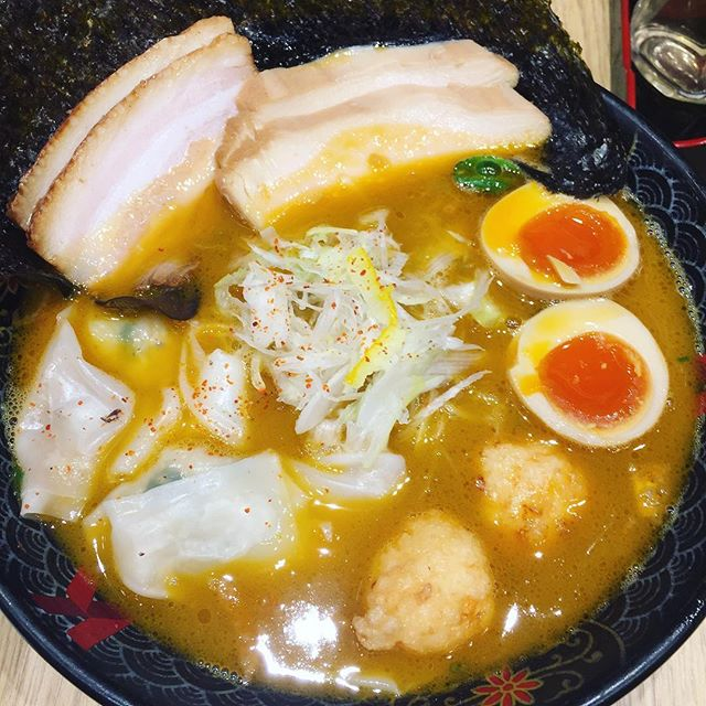 Looks stunning like ramen out of anime or manga!