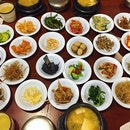 The famous 24 hours banchan overload servings!