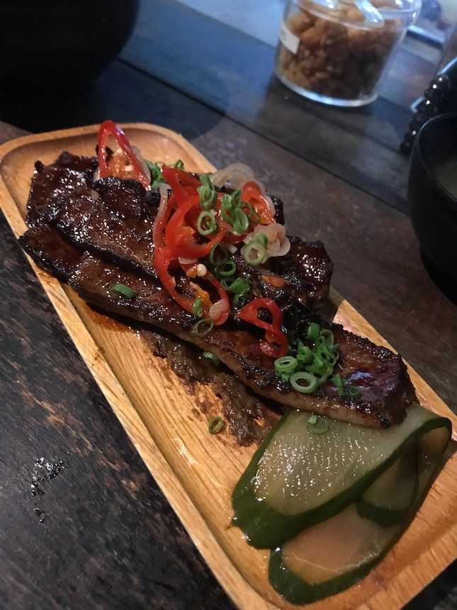 Glazed Beef Short Rib $15++