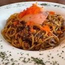 Crab Meat Aglio Olio ($17++)