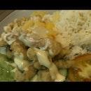 Salad Fish Rice