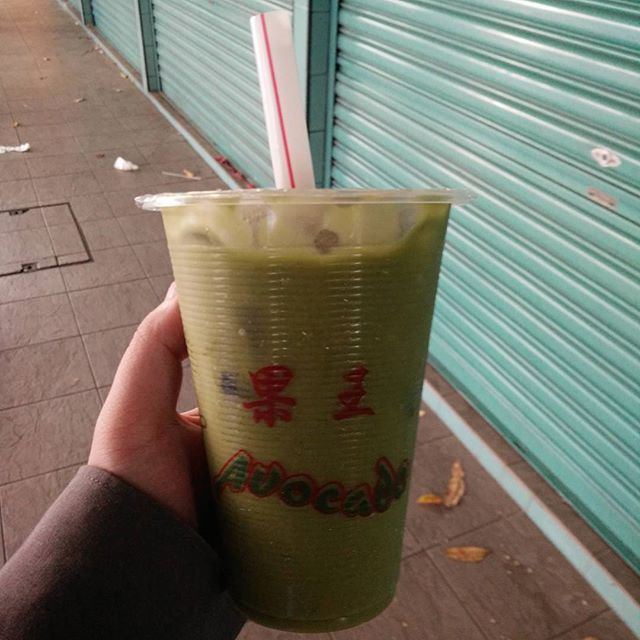 when I was passing by Alexandra Village Hawker Centre I saw like about 5 to 6 Fruit Juice stall Selling Avocado Milkshake.