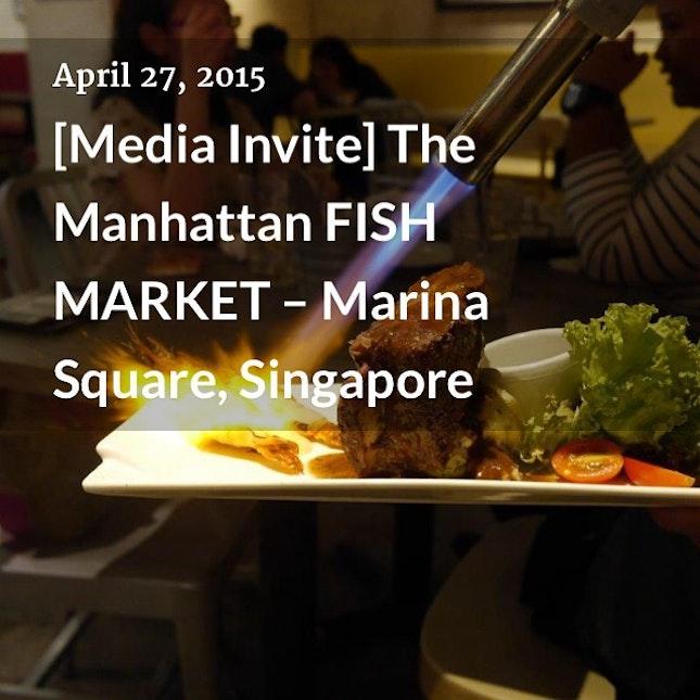 [Media Invite] The Manhattan FISH MARKET – Marina Square, Singapore (link on profile) |  http://eatwithroy.com/2015/04/27/media-invite-the-manhattan-fish-market-marina-square-singapore/  #eatwithroy #foodie #foodporn #foodsg #foodgasm #foodblog #sgfoodblogger #sgfood #foodpics #sgig #igsg #bigroysg #sglifeblogger #singaporelife #instafood #roysingapore #8dayseat #burpple #eatoutsg #wewantsugar #pickatsg #singaporeinsiders #marinasquare #mediainvite #foodtasting #mfmsg
