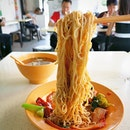 Long time never touched Wanton Noodles and decided to have some this avro.
