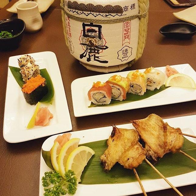 @shinminorisg sushi time!