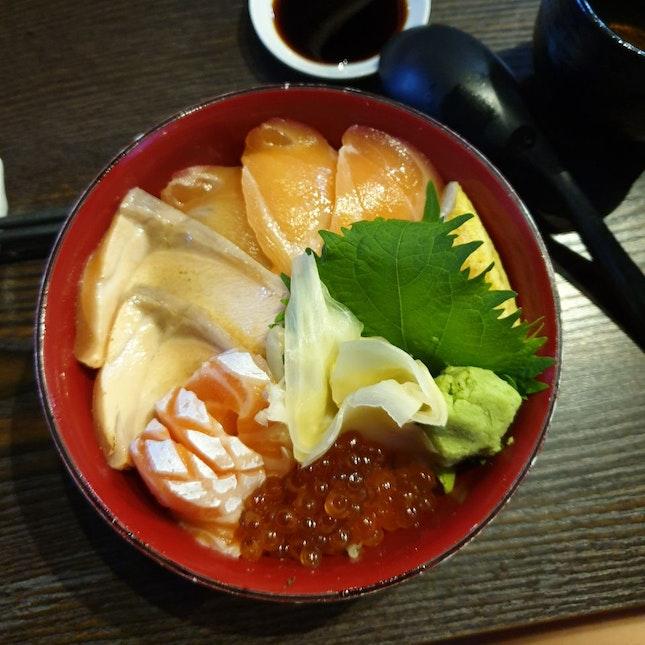 Salmon Ikura Don
