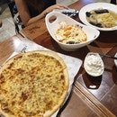 Garlic Pizza, Ro Ppong-Roje & Vongole Ppong